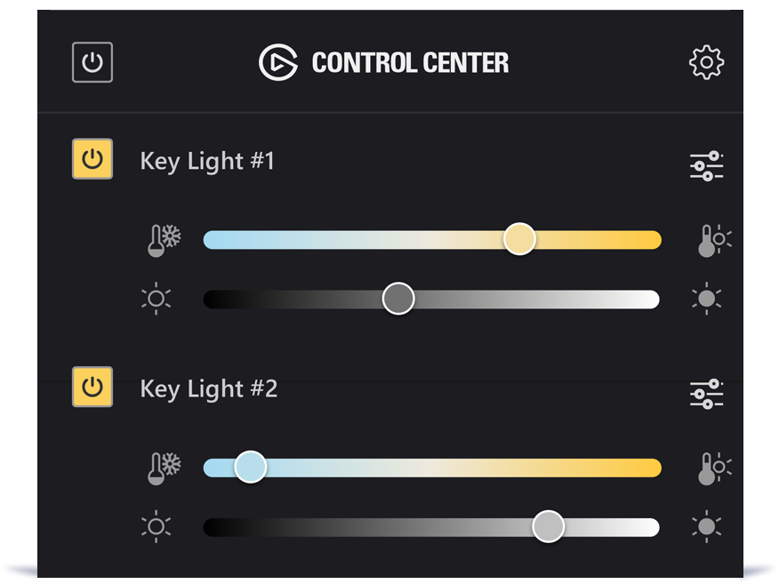 Control Center for Windows